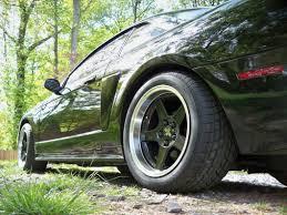 2004 Mustang Cobra Black Mustang Deep Dish 2003 Cobra Style Black Wheel 17x10 5 94 04