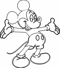 free printable coloring pages draw hd videos mickey