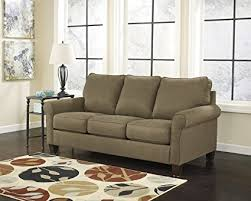 ashley furniture queen sleeper sofa amazon com ashley furniture signature design zeth sleeper sofa