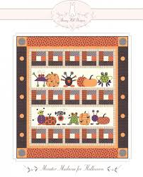 halloween quilt pattern crafts quilting find bunny hill designs products online at