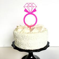 ring cake topper cake toppers jollity co party boutique