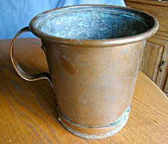 Copper Vases For Sale Large Antique Copper Bucket For Sale At More Than Mccoy At Www