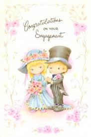 Engagement Congratulations Card Cards Abroad Greetings Cards Posted Abroad