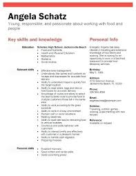 resume exles for students with little work experience sle resume no work experience college student high