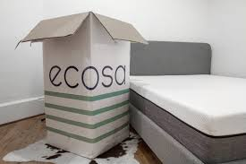 mattress in a box ecosa unboxing youtube