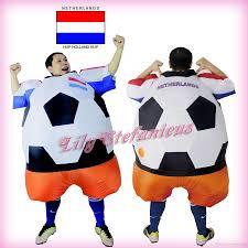 chub netherlands football inflatable jumpsuit cheerleader