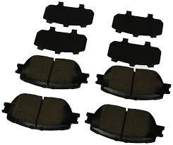 lexus rx300 brake pads amazon com genuine toyota 04465 az010 tm brake pad automotive