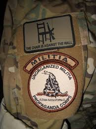 The Chair Is Against The Wall Days Of Our Trailers Um Militia Rocker Tab Patches Are Go