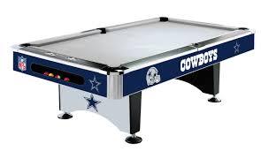 dallas cowboys pool table