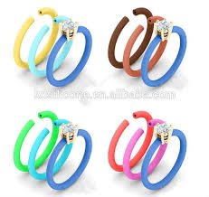 rubber bands rings images Rubber band wedding rings silicone wedding ring band with diamond jpg
