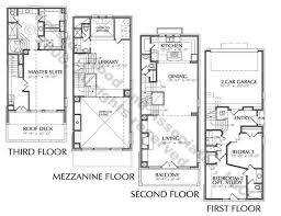Modern Row Houses - download modern row house floor plans adhome