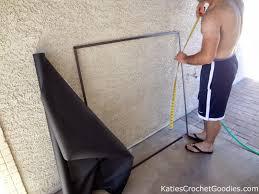diy energy efficient window screens katie u0027s crochet goodies