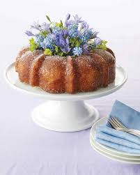 cake centerpiece bundt cake bouquet centerpiece martha stewart