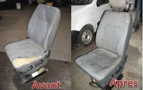 refaire un siege de voiture réparation réfection siège de camionnette par damien siège