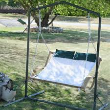 2 person hammock swings at brookstone u2014buy now