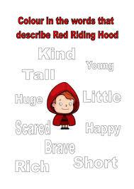 red riding hood story sack kayld teaching resources tes