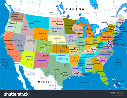 America Map With States by Map Of America With States America Map United States Map With