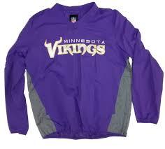 minnesota vikings home decor men u0027s minnesota vikings v neck lightweight pullover jacket 1437