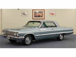 1963 chevrolet impala ss 409 sport coupe for sale classiccars