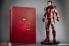 iron man dom marvel iron man mark 43 legendary scale tm figure by sidesh
