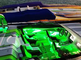 white vs colored led boat lights socalao mc