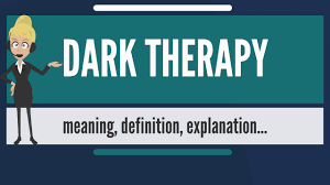 Dark Blue Meaning by What Is Dark Therapy What Does Dark Therapy Mean Dark Therapy