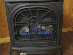 napoleon black vent free natural gas cast iron freestanding stove