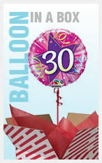 send birthday balloons in a box postal balloons delivery balloon in a box birthday balloons