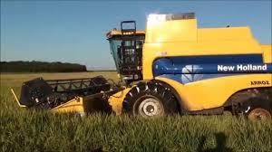 new holland cs 660 arrozeira youtube