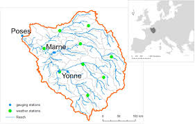 Seine River World Map by The Role Of Water Nitrogen Retention In Integrated Nutrient
