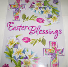 easter religious decorations religious easter window decorations easter blessings
