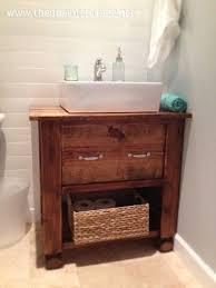 Diy Rustic Bathroom Vanity - diy bathroom vanity bath ideas juxtapost rustic bathroom vanity
