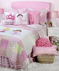 Girls Quilted Bedding by Pink Green Blue Ladybug Bedding Little Girls Twin Quilt Set