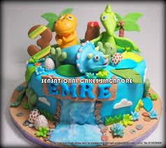 Cake Decorating Singapore Dinosaur Cake Dinosaur Train Cake Singapore New Blue Dino