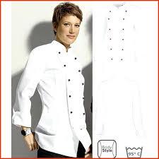 chef cuisine femme veste de cuisine femme pas cher awesome vetement de cuisine pas cher