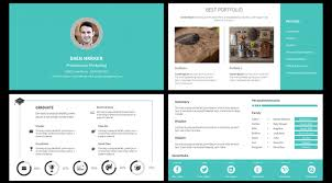 visual resume template for powerpoint gfyork com