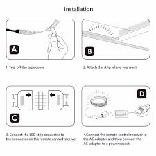 how to install led strip lights 4 5v led strip light 4 5v led strip light suppliers and
