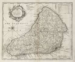 Map Of West Indies An Accurate Map Of The Island Of Bowen Central America
