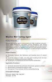 maydos emulsion waterproof slurry coating for exterior wall