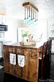 Pendant Lighting With Matching Chandelier Crush Of The Week Think Pink Features Farmhouse Kitchen