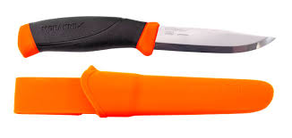 frosts mora outdoor knife companion f orange 10cm 11824
