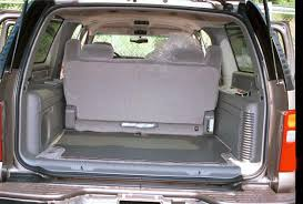 gmc yukon trunk space how to install new audio gear in your 2000 2006 chevrolet suburban