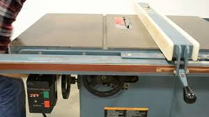 jet cabinet saw review jet jtas 10 1 10 table saw how not to cut wood on table saw youtube