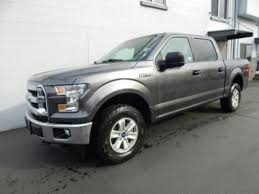 ford f150 crew cab for sale used used 2017 ford f 150 crew cab bed truck gray for sale in