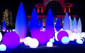 Botanical Gardens Atlanta Christmas Lights by Kiboworks Bespoke Led Illumination
