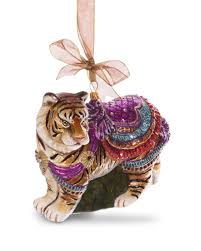 strongwater carousel tiger ornament neiman