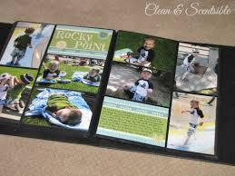 photo album scrapbook and easy scrapbooking clean and scentsible