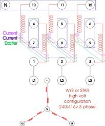 re wiring a three phase generator anoldman com