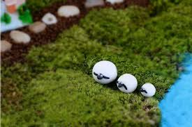 3pcs set mini sheep family garden ornaments figurines