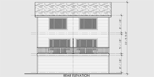 Duplex House Plans For Narrow Lots Duplex House Plans Narrow Lot Townhouse Plans D 526